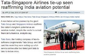 ist full form singapore airlines tata to form new indian full service airline