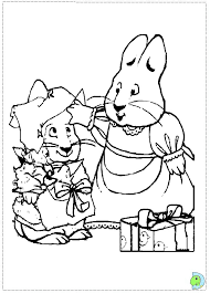 Small Picture Max and Ruby Coloring Pages Printable Get Coloring Pages