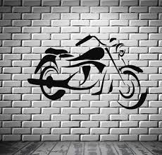 bike sport race motor speed extreme mural wall art decor vinyl sticker unique gift z644 on wall art decoration vinyl decal sticker with bike sport race motor speed extreme mural wall art decor vinyl
