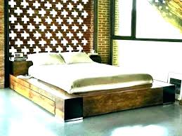 low profile platform bed frame – hereness.co