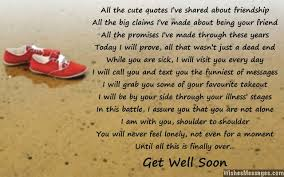 Get Well Quotes Awesome Get Well Soon Poems For Friends Page 48 WishesMessages