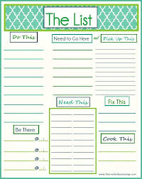to do lists templates 91 best printable to do list images on pinterest homes paper