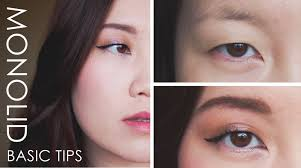 hey and there here s the one you ve been waiting for i wanted to start with some basic makeup tips accessible for monolith single eyelids