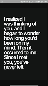 Aww Thinking Of You Quotes Quotable Quotes Itsalovestory