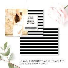 Templates For Graduation Invitations Large Size Of Graduation Announcement Card Templates As Well