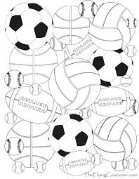 Free Printable Sports Coloring Pages Staranovaljainfo