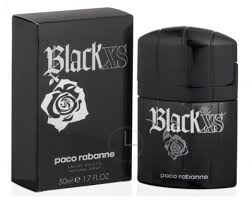 <b>Paco Rabanne Black XS</b> Homme EdT 50ml in duty-free at airport ...