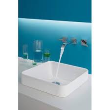 kohler square sink. Unique Sink Vox Ceramic Square Vessel Bathroom Sink With Overflow On Kohler R