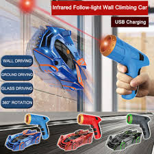 <b>Infrared</b> Laser Tracking Wall Climbing Car <b>Follow</b>-<b>light Remote</b> ...
