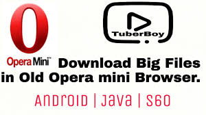 How To Download Big Files In Old Opera Mini Browser Android Java