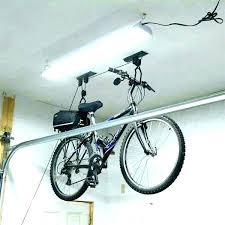 diy garage bike rack ceiling homemade hanging for