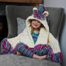 Hooded Blanket Crochet Pattern Unique Inspiration