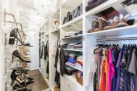 kristen swenson worked with closet designer melanie charlton to create a custom closet that s now shared