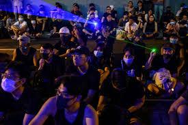 Hong Kong Red Light Area Youtube Hong Kong Protests China Used Twitter Facebook And