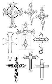 Cross Designs Cool Cross Tattoos Designs
