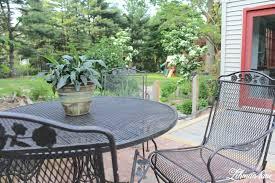 creative patio furniture. Creative Iron Patio Furniture Spray Paint Rust