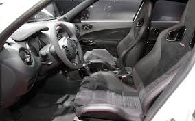 nissan juke 2013 interior. 2013 nissan juke nismo interior dash and seats tokyo motor show