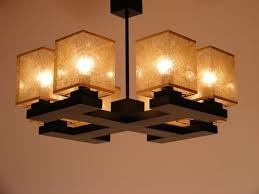 wooden chandeliers lighting