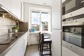 long narrow kitchen ideas: long narrow kitchen with dining area