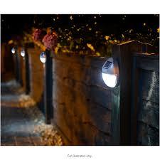 lighting in garden. 306941-306942-Solar-Fence-Lights-2 Lighting In Garden