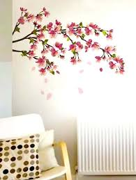 wall stickers india d wall sticker new d plum vase wall stickers home decor