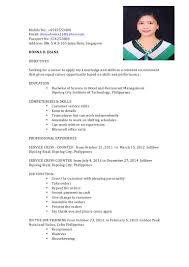 ojt resume. Resume For Ojt Hrm Students Sample 9 bahamas schools