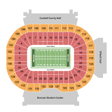 Notre Dame Stadium Seating Chart Rows Seat Numbers And