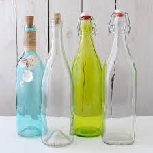Bottle styles for Message in a Bottle Centerpiece
