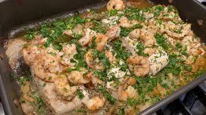 One Pan Seafood Bake Recipe