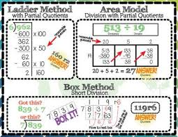 long division anchor chart long division anchor charts standard non standard algorithms