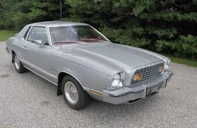 1976 Ford Mustang II Silver Ghia Edition - YouTube