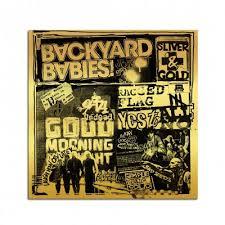 <b>Sliver</b> & Gold CD | <b>Backyard babies</b> merch
