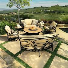 patio furniture set with fire pit table gas fire pit patio sets fire pit sets patio