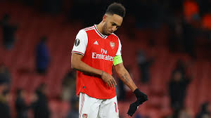 Download hd arsenal desktop wallpapers best collection. I Feel Very Bad Aubameyang Unsure How He Missed Late Chance As Arsenal Crashes Out Of Europe Goal Com