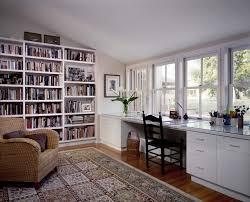 home office bookshelf. Bookshelf With Desk Built In Ikea Home Office Contemporary Douglas Fir Floors Reading Chair