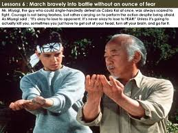 Karate Kid Quotes New Quotes From Miyagi On QuotesTopics