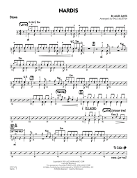 Download Digital Sheet Music Of Miles Davis For Drums