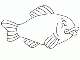 Free Printable Fish Coloring Pages For Kids within Coloring Pages ...