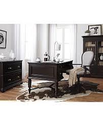contemporary home office furniture. clinton hill ebony home office furniture collection created for macyu0027s contemporary i