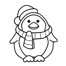 Cute Baby Penguin Coloring Pages Coloring Pages Of Penguins Baby
