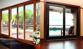 Wood sliding patio doors Oversized Sliding Glass Sliding Patio Doors Marvin Architectural Superb Benefits Of Aluminium Clad Wood Sliding Patio Doors Marvin