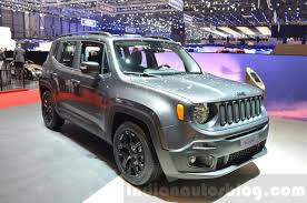 2018 jeep india. simple 2018 jeep renegade dawn of justice special edition front three quarter at the  geneva motor show live to 2018 jeep india
