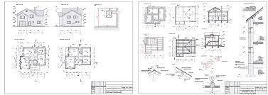 Курсовые и дипломные проекты коттеджи дачи скачать котедж в dwg  Курсовая работа Двухэтажный одноквартирный жилой дом со стенами из кирпича и гаражом