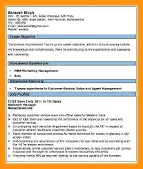 Resume Format For Banking Jobs Curriculum Vitae Example For Bank Jobs Resume Format Ideas Pro