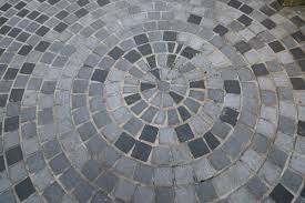 Patio pavers patterns Rectangular Radial Grey Brick Patio Design Home Stratosphere 50 Brick Patio Patterns Designs And Ideas