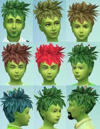 Mod The Sims: Plantsim sims 2 Hairstyle Conversion by Esmeralda ~ Sims 4  Hairs