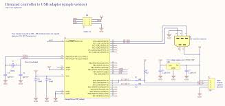 dreamcast controller to usb adapter schematic schematic schematic the dreamcast controller