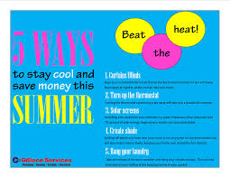 5 Ways to Stay Cool and Save Money this Summer - Gillece Services