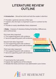 Apa Format Literature Review Outline Magdalene Project Org