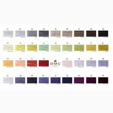 Dmc Color Chart 2017
